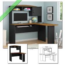 Small corner wood home office Office Chair Home Office Desk With Hutch Shaped Wood Corner Computer 22arcanaclub Home Office Desk With Hutch Shaped Wood Corner Computer Corner