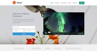 website template video free responsive website html and css templates designmodo