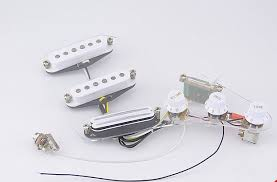 popular electric guitar wire harness buy cheap electric guitar high quality guitar wiring harness ssh electric guitar pickup for fender strat style white