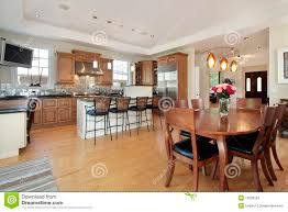 Kitchen Eating Area Kitchen And Eating Area Stock Photos Image 12656533
