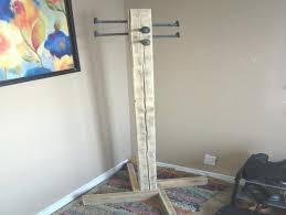 Diy Free Standing Coat Rack Standing Coat Rack Diy Freestanding Coat Rack 100 Diy Free Standing 30