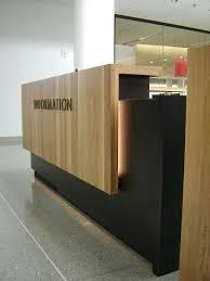 reception desks design modern