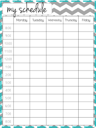 week schedule print out printable schedule template vastuuonminun