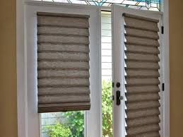 motorized patio door blinds captivating roman shades on french doorotorized blinds intended for plan motorized patio door blinds