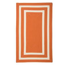 Small Picture Home Decorators Collection Griffin Border OrangeWhite 10 ft x 13