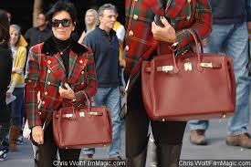 Hermes Brown Color Chart Kris Jenner Auctions Her Hermes Birkin Bag Due To Color