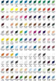 Prismacolor 132 Color Pencil Sets Color Chart In 2019
