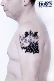татуировка носорог значение эскизы тату и фото