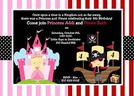 princess and pirate invitation templates com pirate and princess party invitations template home party ideas