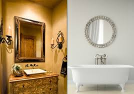 Impressive Design Ideas Old Fashioned Bathroom Mirrors Vintage