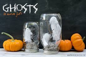 Ball Jar Decorations Cool Ghosts In Mason Jars Mason Jar Crafts Love
