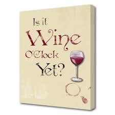 wine oclock art print wine o clock on wine canvas wall art uk with wine o clock canvas art print