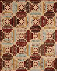 Log Cabin Quilt Patterns Fascinating Libby's Log Cabin Quilt Project The Quilting Company