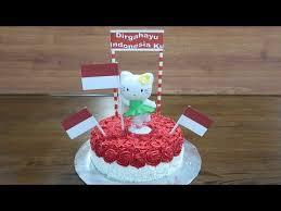 Kue Ultah Hello Kitty Tart Cake Kue Ulang Tahun Untuk Indonesia