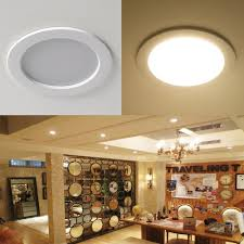 le 4 pack 8w 3 5 inch led recessed lighting 75w halogen bulbs equivalent not dimmable led driver included 400lm warm white 3000k 90 beam angle