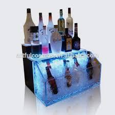 Bar Bottle Display Stand Led Light Bottle Holder Bar Shelf Bar Liquor Bottle Stand Led 18