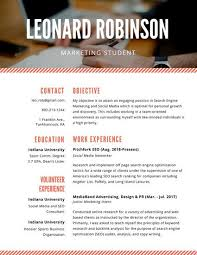 Marketing Resume Cool 60 Perfect Marketing Resume Templates For Every Job Seeker WiseStep