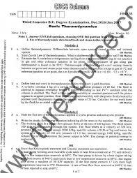 e-Paatashala: VTU BE 3rd Semester Mechanical Question Paper : Basic ...