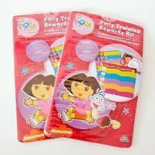 Dora The Explorer Potty Training Rewards Stickers Chart