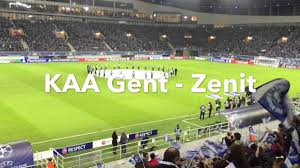 KAA Gent - Zenit (Champions League) 09/12/2015 - YouTube