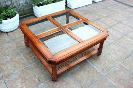 large wood coffee table glass top wood coffee table square wood and glass coffee table square