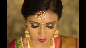 south indian bridal makeup in hd um dark skin