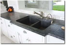 soapstone countertops seen on lavant kitchen furniture