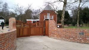 Brick Entrance Designs Driveway Bespoke Gate Design And Build Sudbury Suffolk East Anglia