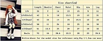 Amazon Com Kuafu 1 3 Bjd Sd Doll Clothes Lovely Girls