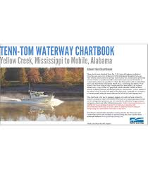 Tenn Tom Waterway Chartbook Yellow Creek Mississippi To Mobile Alabama