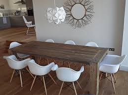 endearing rustic round dining room table terrific wood
