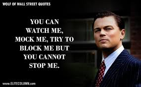The Wolf Of Wall Street Quotes Leonardo Dicaprio Hd Wallpapers