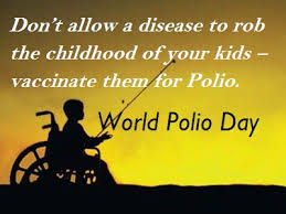 world polio day essay speech quotes status history story  world polio day speech