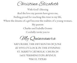 words invitation quinceanera invitations wording examples complete guide