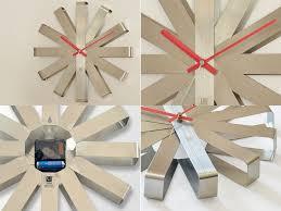 <b>Часы настенные Ribbon</b>, <b>стальные</b> – Изготовление рекламной ...