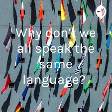 Why don't we all speak the same language?