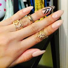 Nail shapes in fashion ~ Beautify themselves with sweet nails