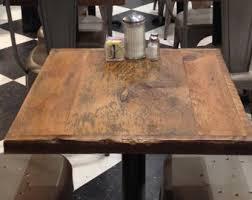 reclaimed wood furniture etsy. Restaurant Table, Reclaimed Wood Table Top, ADD A BASE Furniture Etsy E