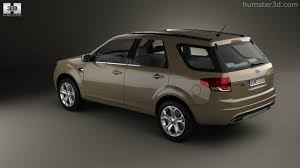 360 view of Ford Territory 2012 3D model - Hum3D store
