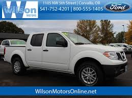 used 2016 nissan frontier sv in corvallis or c3370a lebanon m albany or
