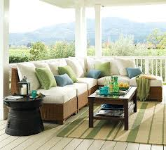 pottery barn outdoor table view in gallery palmetto all weather wicker