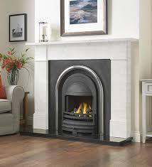 cast tec flat victorian carrara marble fire surround