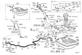 TOYOTA COROLLAKE72V-EVKRS - BODY - FUEL TANK TUBE   Japan Parts EU
