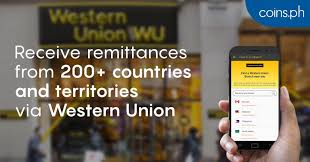 Western Union Transfer Fees Chart 2018 Receive Western Union Money Transfers In Your Coins Ph Wallet