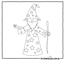 Wizard Coloring Pages With And - glum.me