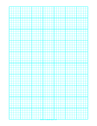 Printable Graph Paper With One Line Every 2 Mm And Heavy Index Lines