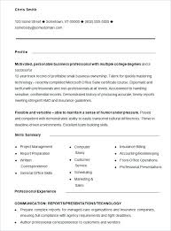 Template Functional Resume Functional Resume Sample For Monster
