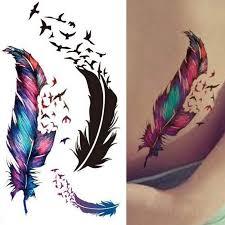 Dočasné Tetování Pírka