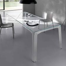 fragments glass dining table by tonelli  klarity  glass furniture