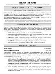 Sample Resume Mechanical Engineer Mechanical Engineer Resume Template Engineering Example Printable 42